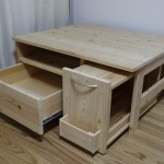 廃材をテレビ台にDIY!テーブルにもなりそうな家具を作ってみた!