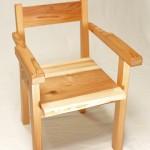 背もたれ椅子の作り方!手すりをつけ姿勢がよくなるように角度もつけてみた!