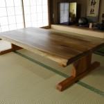座卓テーブルをDIY!無垢の桜で1枚板っぽいテーブルを作ってみた