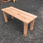 DIYベンチキットは簡単に桧の木製ベンチが作れます!設計図はブログと動画で!