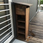 木製下駄箱付き郵便受けのポストをDIY!斜めにして雨が流れるようにしてみた!塗装はウッドガードがおすすめ
